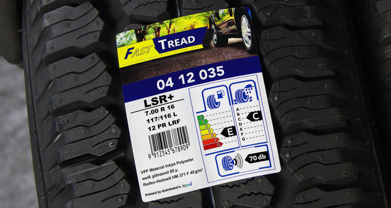 VPF Facestocks fpr tyre applications