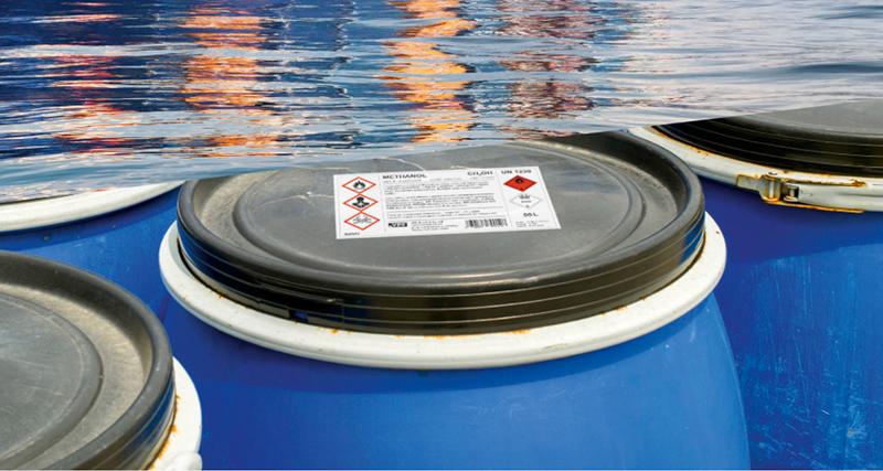 VPF seawater restistant inkjet materials