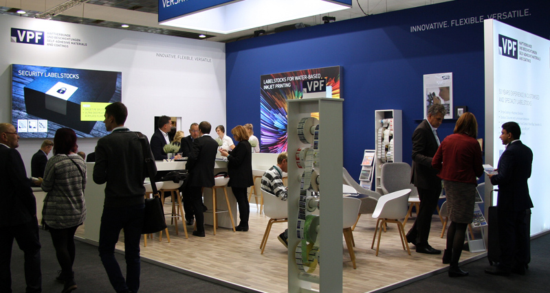 VPF Booth, Labelexpo Europe 2017, Brussels