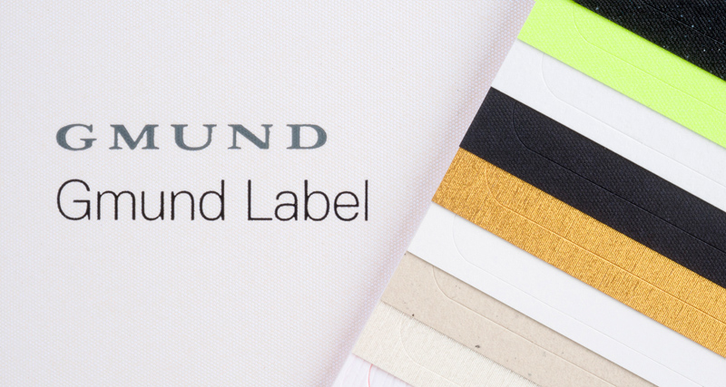 VPF Gmund Label exclusive paper based self-adhesive labelstocks
