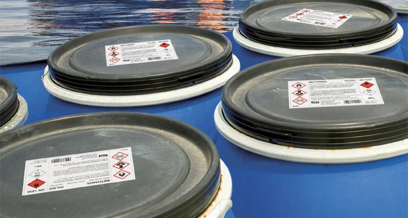 VPF new seawater restistant labelstock