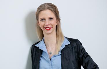 Nadine Slobodda, Fachliche Leitung Produktentwicklung und Qualitätssicherung