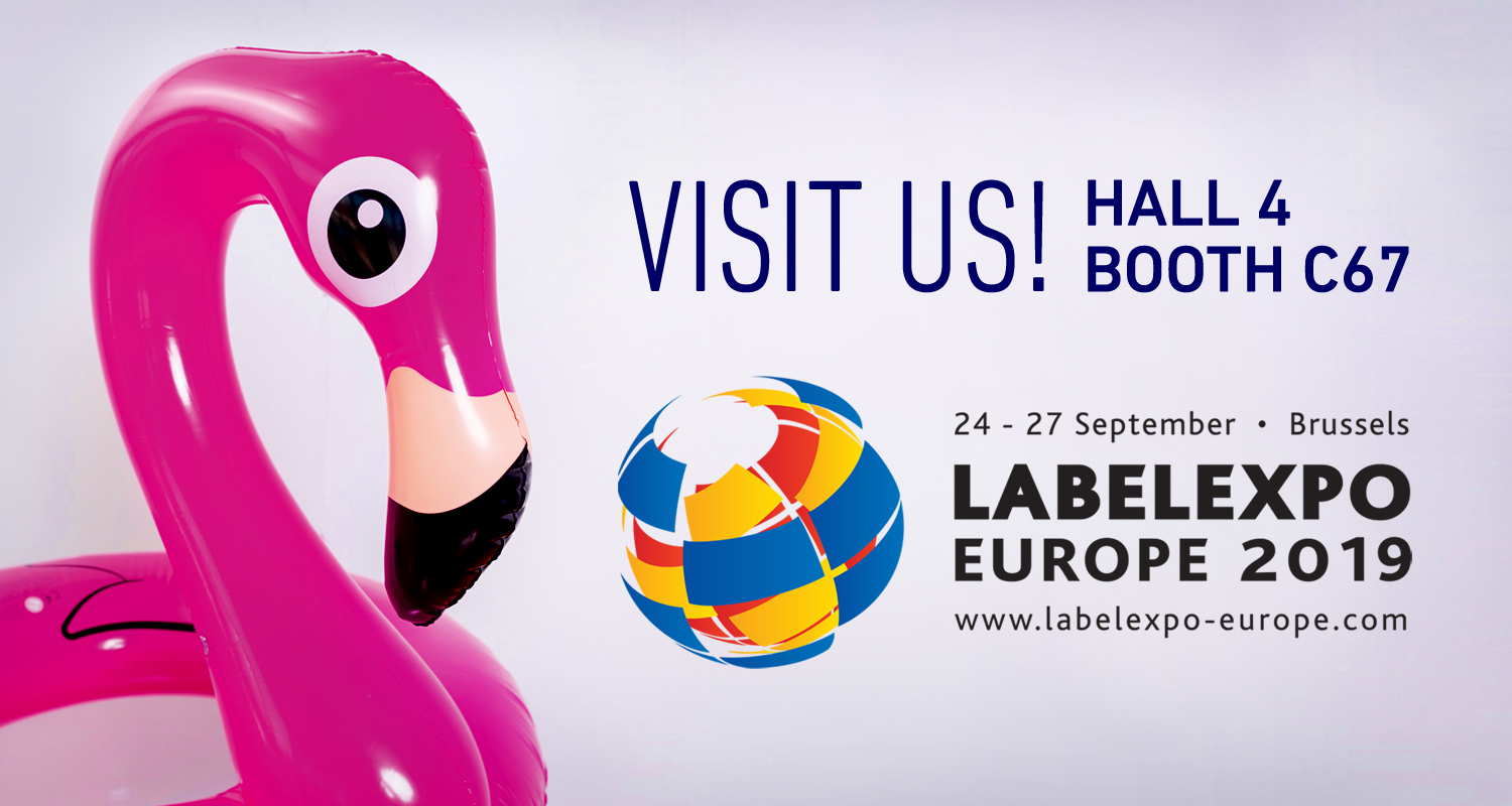 VPF – Visit us! Labelexpo Europe 2019